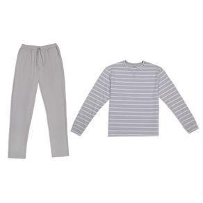 Pijama-Set-2-Piezas-Milk-Soda-Manga-Larga-Terry-Rayas-Para-Hombre-PMK9057