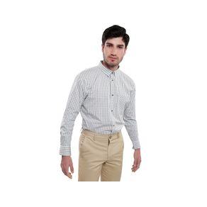 Camisa-Sherman-Morgan-A-Cuadros-Para-Hombre-L-1002