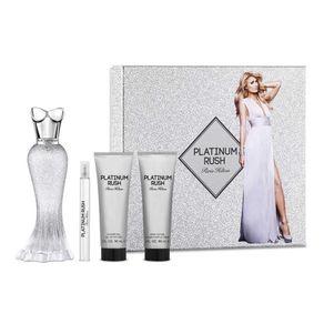 Set-Paris-Hilton-Platinum-Rush-100-Ml-Gel-Body-Mini-Perfume-Para-Mujer-5793