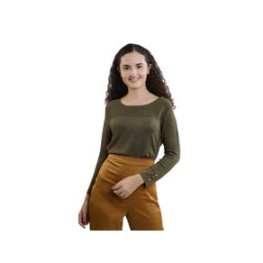 Sueter-Delgado-Lob-Manga-Larga-Para-Mujer-DTSE0223